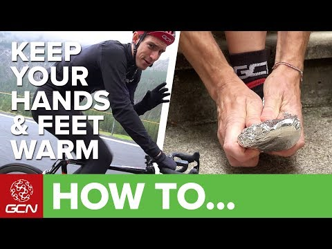 How To Keep Your Hands & Feet Warm | GCN's Pro Tips