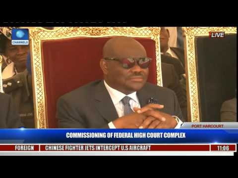 Commissioning Of Federal High Court Complex Pt. 2