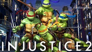 Injustice 2: How Will The Ninja Turtles Play, Competing & Justice League Or Injustice Movie Q&A