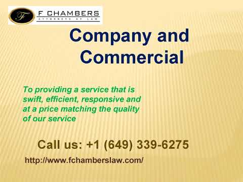 FChambers at Law: Turks and Caicos Island Attorneys at Law
