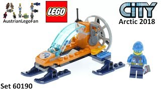 Lego City 60190 Arctic Ice Glider - Lego Speed Build Review