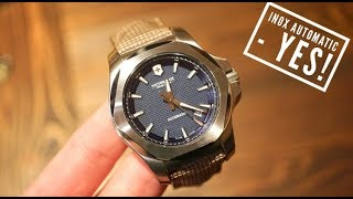 VICTORINOX I.N.O.X. Automatic Watch Review - New for 2018! 241834