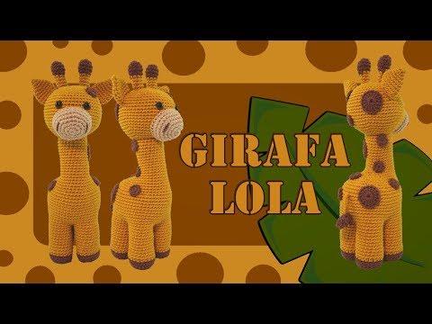 Girafa Lola Amigurumi