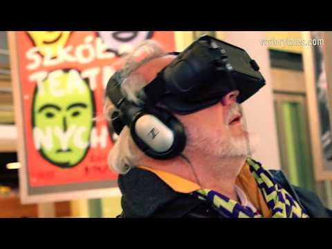 Showing OUT OF BODY VR Experience in the Lodz Film School