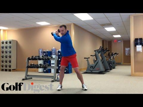 Fitness Friday: The Dumbbell Backswing