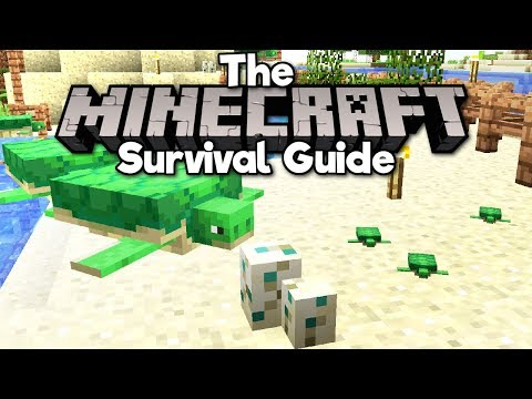Turtle Hatching & Turtle Shell Helmet ▫ The Minecraft Survival Guide (Tutorial Lets Play) [Part 106]