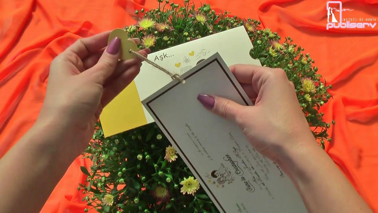 Invitatii De Nunta Catalog Armony Miri Haioase Cod 17082 Www