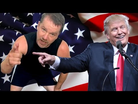 Donald Trump Health Fitness Workout Exercises - Funny