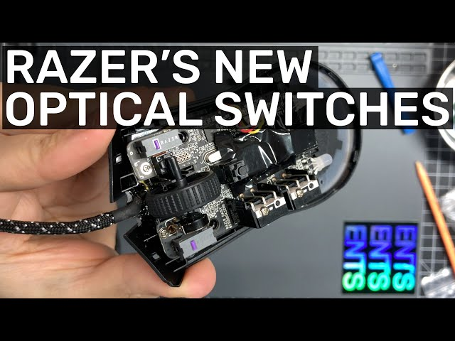 Checking out Razer's latest Optical Switches