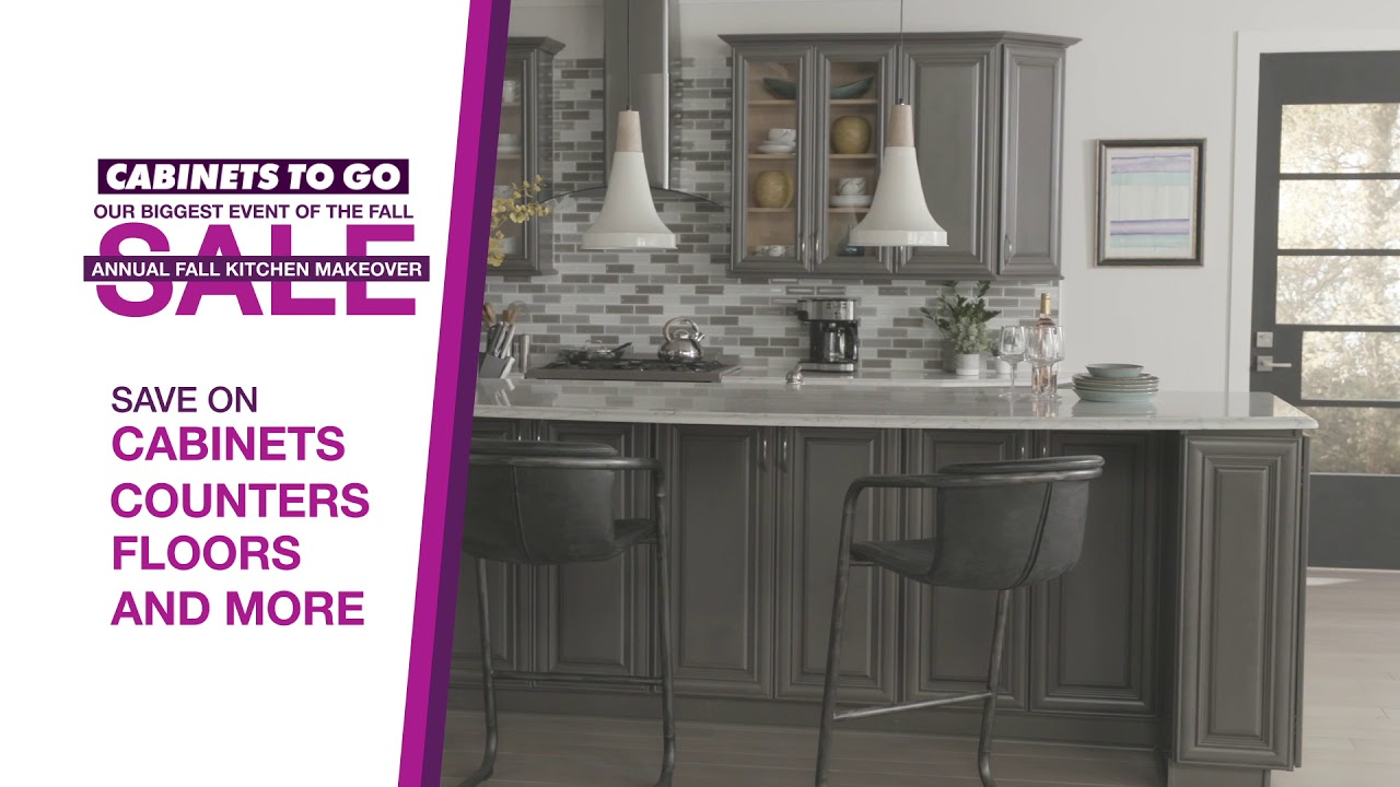Cabinets To Go Annual Fall Kitchen Makeover Sale Youtube