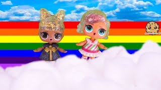 What Is On Top Of A Rainbow ? Winter Disco LOL Surprise Big Sister Video