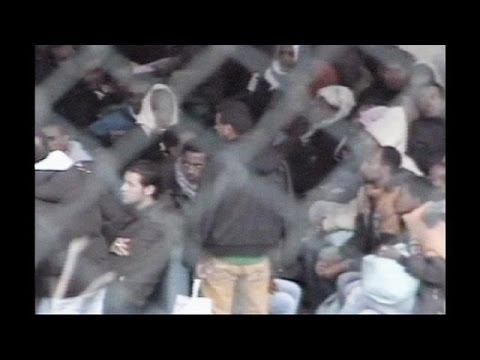 Lampedusa refugees evacuated