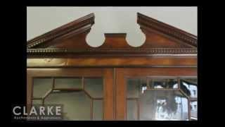 Georgian China Cabinet | Georgian Cabinet | Antique Furniture | Clarke Auction Gallery