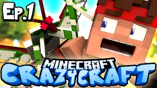 Minecraft  CRAZY CRAFT 3.0 | Ep 1 : KILLER MANTIS! (Crazy Craft Modded Survival)