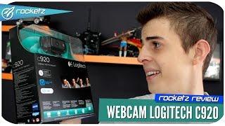 Gambar cover Logitech C920 Pro HD - A webcam dos Youtubers