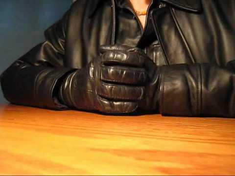 Vintage Austin Classic Leather Gloves