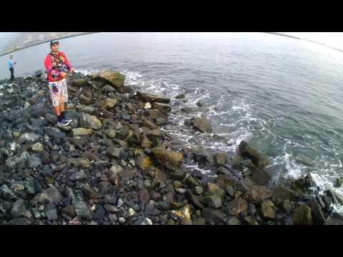 Micro Jigging from Shore