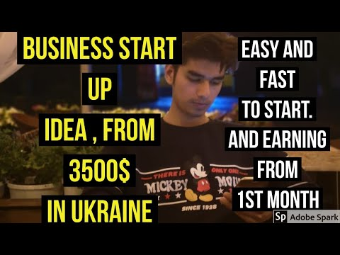 Cheap start up business ideas for Ukraine | business ideas for ukraine | how to get Ukraine work per