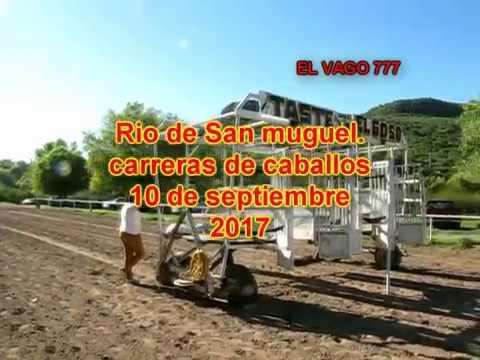 carrera de caballos en San Miguel sept 10 17