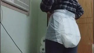How to wear Adult diaper while…
