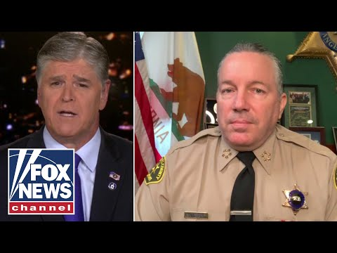 LA County sheriff updates condition of ambushed deputies in 'Hannity' exclusive
