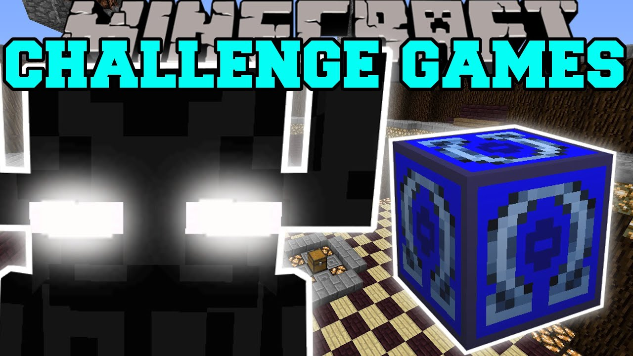 minecraft ender colossus challenge games lucky block
