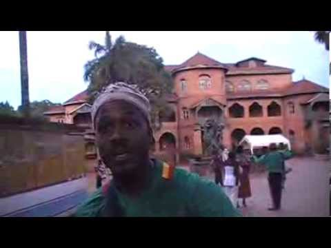 My trip to Cameroon: At the palace of the Bamoun King/Sultan in Foumban