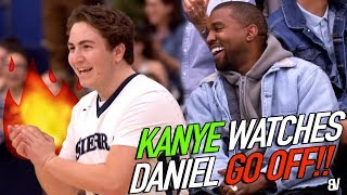 Daniel Messinger SHUTS DOWN THE GYM In Front Of KANYE WEST! TEAM STORMS COURT! Sierra Canyon LIT END