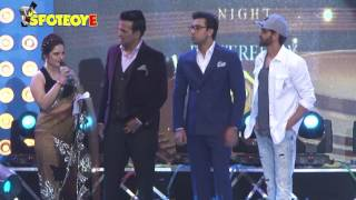 Hrithik Roshan and Ranbir Kapoor Shared the Stage at an Event | SpotboyE