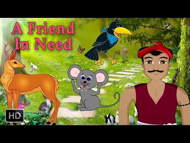 Forest Stories For Children:  - Animal Stories - A Friend In Need  - Short Moral Stories For Kids