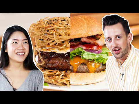 Trendy Vs. Traditional: Burgers • Tasty