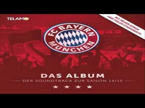 """Fc Bayern München """"Das Album-der Soundtrack zur Saison 14/15"""" - Mannschaftsaufstellung (Karoake)"""