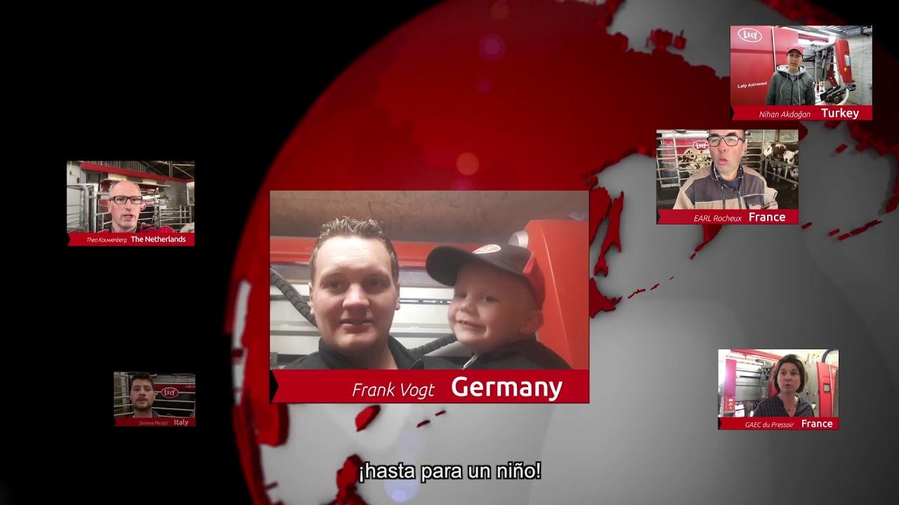 Lely Astronaut A5 – Un año de experiencia – Video 8 (ES)