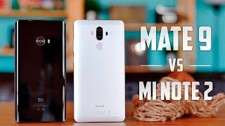 Xiaomi Mi Note 2 vs Huawei Mate 9