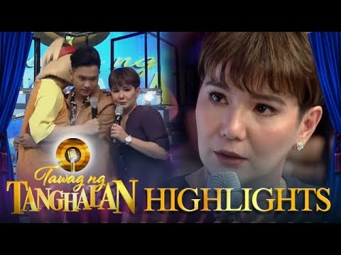 Tawag ng Tanghalan: Tyang Amy gets emotional on TNT stage