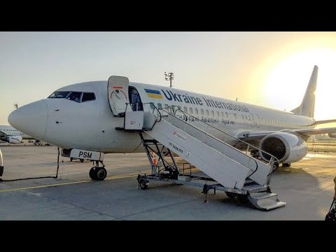 TRIPREPORT | UIA Ukraine International Airlines (ECONOMY) | Boeing 737–800 | Baku - Kiev