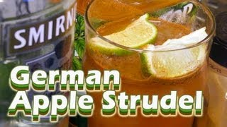 German Apple Strudel Recipe - Apple Cocktails - Thefndc.com