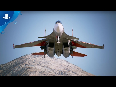 Ace Combat 7: Skies Unknown - New Years Showcase Trailer | PS4, PS VR