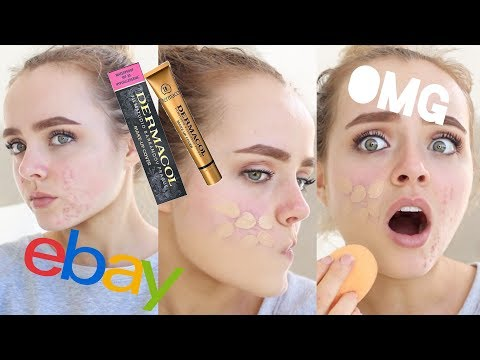EXTREME COVERAGE EBAY FOUNDATION??   DERMACOL MAKEUP COVER REVIEW   Conagh Kathleen