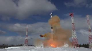 Russia's new Sarmat heavy ICBM undergoes 2nd launch test