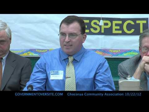 Chocorua Community Association Candidate Debate 10:22:12