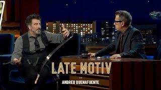LATE MOTIV - Agustín Jiménez. 'Sexiest man on earth' | #LateMotiv330