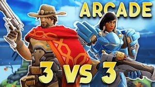 OVERWATCH FR | Arcade - 3 Contre 3 ( PS4 Pro )