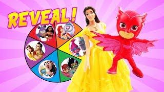 Spin the Wheel Missing Troll Poppy Mystery Clue Game Reveal! W/ Belle, Owlette & Romeo