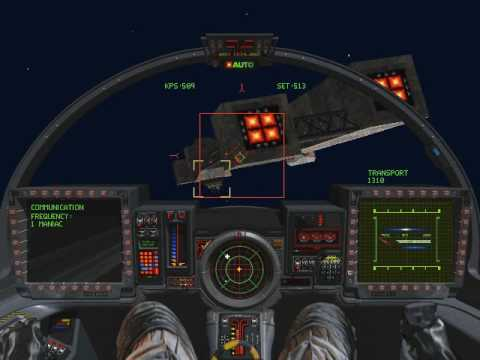 Wing Commander 3 Mission 2 Part 2 2 Youtube