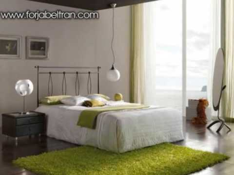 Dormitorios con forja novedades decoracion de - Adornos de pared de forja ...
