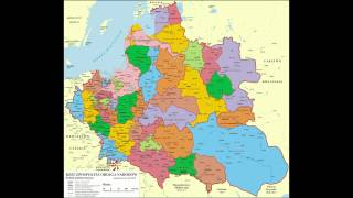 History of the Grand Duchy of Lithuania and the Polish-Lithuanian Commonwealth in the maps