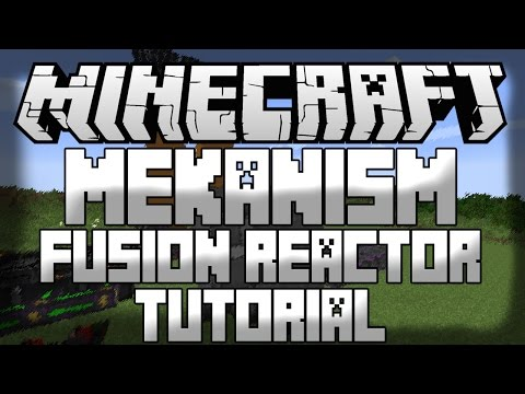 Minecraft Mekanism Tutorial: Fusion Reactor, Solar Evaporation Plant and Laser