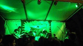Banda Makossa fazendo um som para a galera no 1º Pró Rock