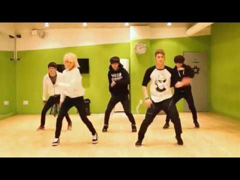 NU'EST 'Hello' mirrored Dance Practice [reup]